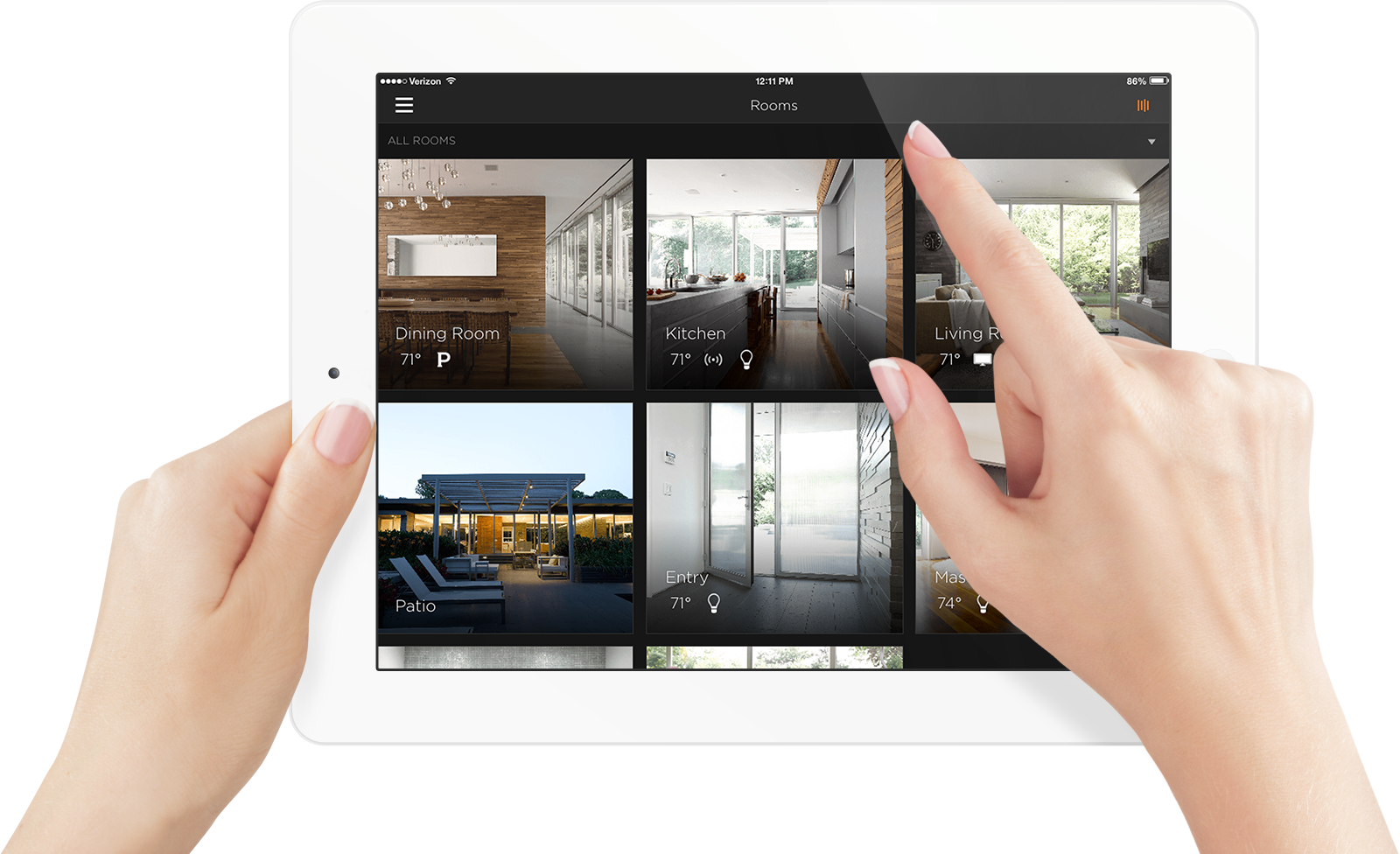 Home Technology home solutions: smart home control
